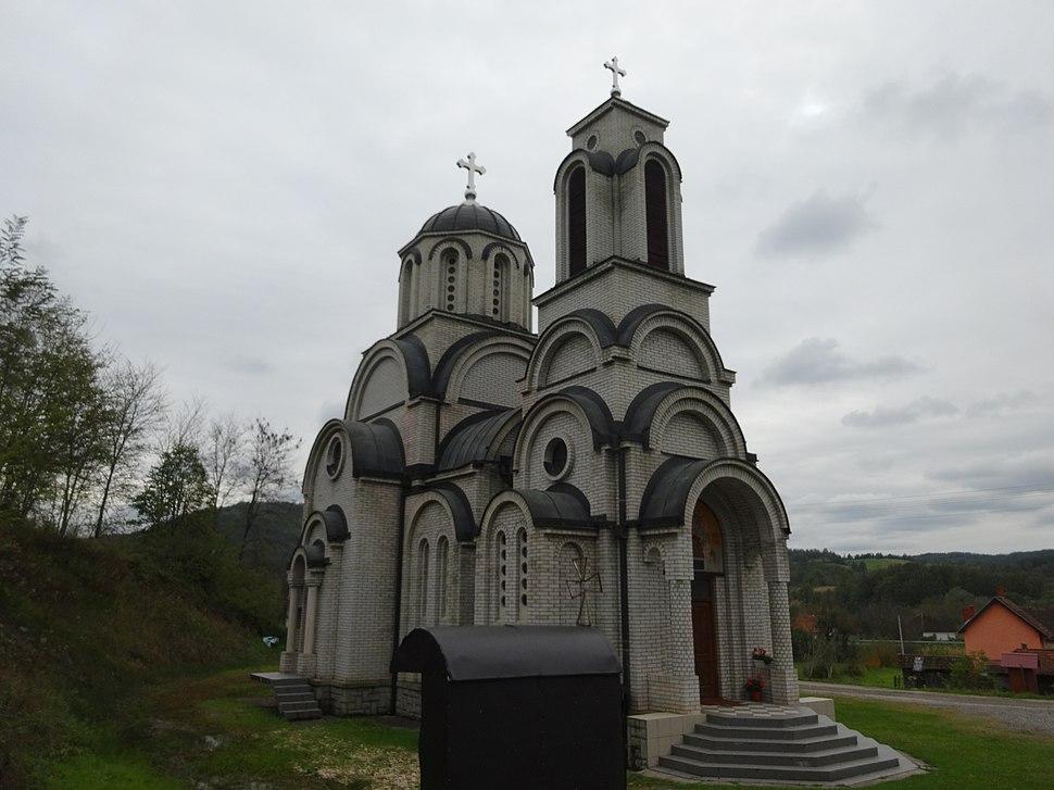 Štavica, Crkva Sabor svetih apostola, M09