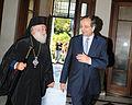 Αντώνης Σαμαράς - Συνάντηση με τον Πατριάρχη Αλεξανδρείας και πάσης Αφρικής κ.κ.Θεόδωρος Β΄7732346138.jpg