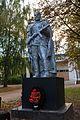 Братська могила мирних жителів, розстріляних фашистами та пам'ятний знак 130 воїнам-односельчанам в селі Сахутівка.jpg