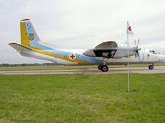 Antonov An-26 - An-26 Vita