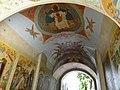 Роспись арки надвратной Церкви Рождества Иоанна Предтечи Троице-Сергиева лавра 2.JPG