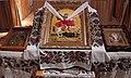 Свято-Георгиевская церковь, икона Георгия Победоносца с мощами..jpg