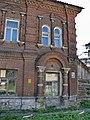 Тула, ул.Благовещенская, 7. Кирпичное двухэтажное здание. Фрагмент фасада.jpg