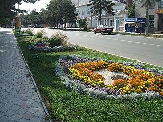 Temryuk Town in Krasnodar Krai, Russia