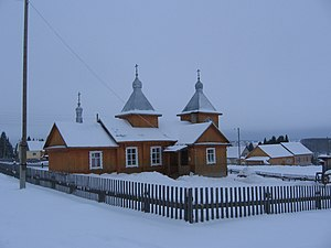 Afanasyevsky District - Old Believers church in Afanasievo, Afanasyevsky District