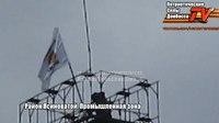 File:Ясиноватский район; Поднятие флага в промышленной зоне.webm