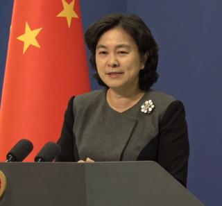 Hua Chunying Chinese politician and spokeswoman