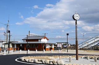 Idagawa Station Railway station in Kameyama, Mie Prefecture, Japan