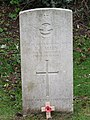-2018-12-12 CWGC gravestone, Aircraftman R. S. Allen, Parish church of Saint Martin, Overstrand.JPG