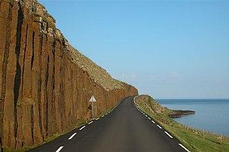Froðba - Image: 002 Froðba Basaltformationer