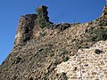 019 Castell de Montsoriu, torre sud-est i talús.jpg