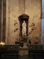 0406_-_Siracusa_-_Duomo_-_Antonello_Gagini,_Madonna_della_neve_(1512)_-_Foto_Giovanni_Dall'Orto_-_15-Oct-2008.jpg