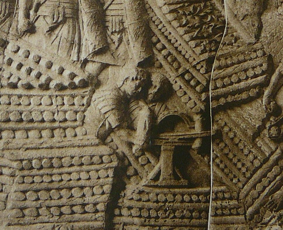 047 Conrad Cichorius, Die Reliefs der Traianssäule, Tafel XLVII (Ausschnitt 02)