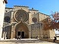 082 Monestir de Sant Cugat del Vallès, façana oest.JPG