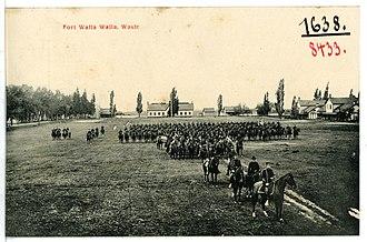Fort Walla Walla - Fort Walla Walla in 1906.