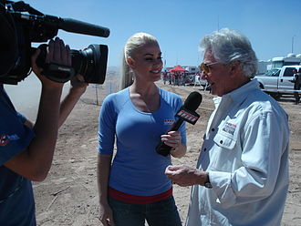 Mint 400 - K.J. Howe, Former Mint 400 Race Director being interviewed
