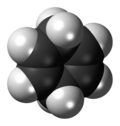 1,4-Cyclohexadiene molecule
