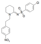 Chemical structure of W-18.