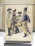 1. Gardes Dragonders - Lijfeskadron; 2. Oranje - Carabiniers; 3. Tuyll van Serooskerken (H.J. Baron van); 4. Hussaren van Salm (vacant) - Wachtmeester (NYPL b14896507-93311).tiff