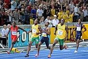 100 m final Berlin 2009