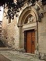 106 Sant Esteve de la Doma, portalada gòtica.jpg