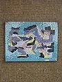 1100 Bergtaidingweg 17 Stg. 50 PAHO - Smaltenmosaik-Hauszeichen Abstrakte Komposition von Edda Mally IMG 7668.jpg