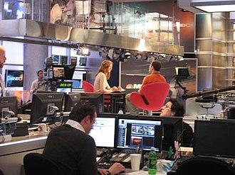 MSNBC - The MSNBC studio