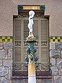 113 Casa Barbey, brollador i façana nord (la Garriga).JPG