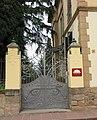 126 Casa Fèlix Fages, Passeig 9, tanca (la Garriga).JPG