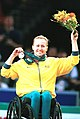 141100 - Wheelchair basketball Donna Ritchie silver medal - 3b - 2000 Sydney medal photo.jpg