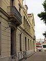 142 Escola de Teixits, pl. Indústria - c. Sant Pere (Canet de Mar), façana sud.JPG