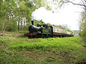 Dean Forest Railway - Image: 1450 at Oakenwood