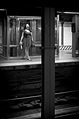 14 Street subway station woman yawning.jpg