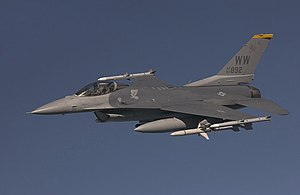 14th Fighter Squadron - Image: 14th Fighter Squadron Lockheed F 16C Block 50P Fighting Falcon 92 3892