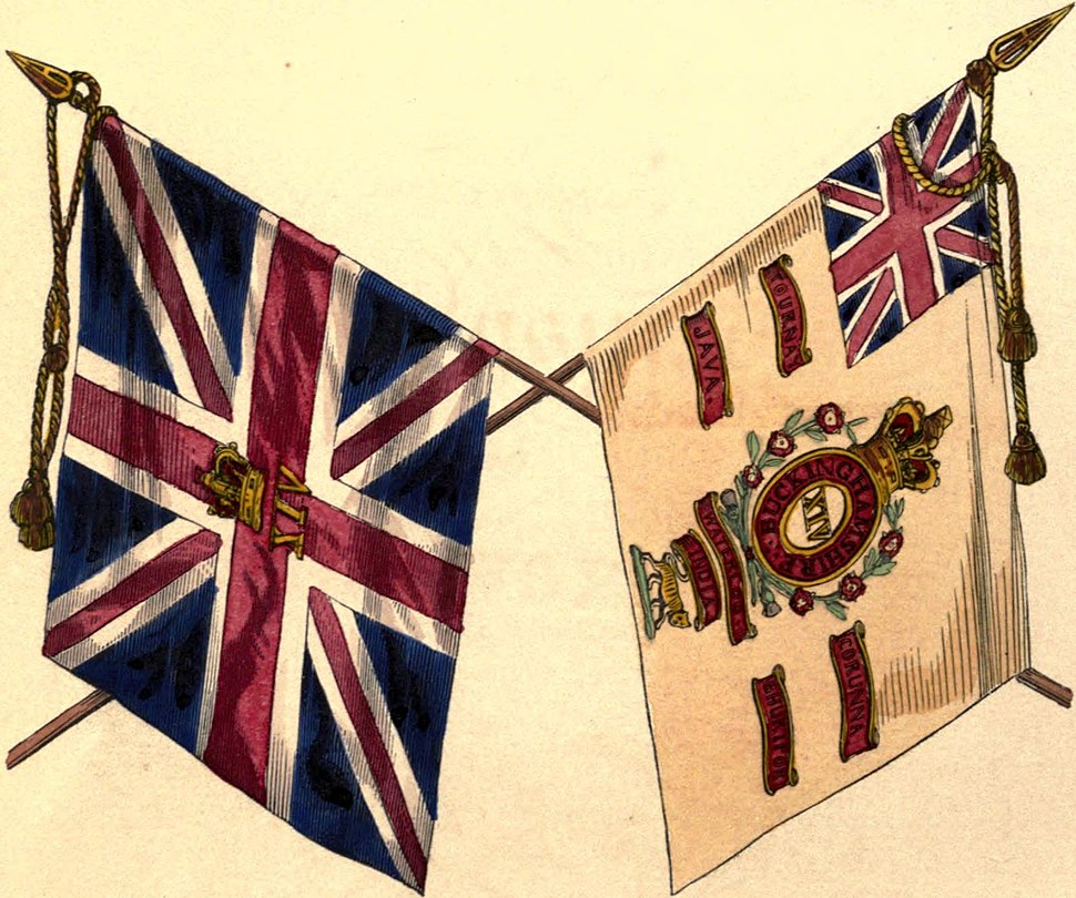 14th Foot colours