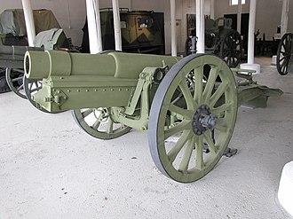 Type 38 15 cm howitzer - Type 38 150mm howitzer