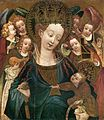 15th-century unknown painters - Virgin and Child with Angels - WGA23773.jpg