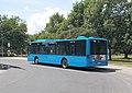 160-as busz, a HÉV-állomásnál, 2018 Békásmegyer.jpg