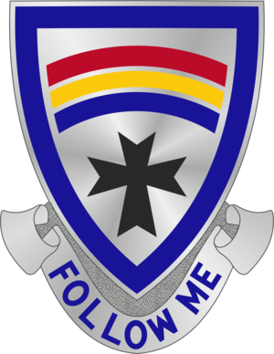 166th Infantry Regiment (United States) - Image: 166 Inf Rgt DUI