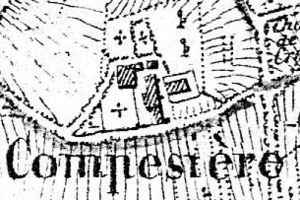 Compesières Commandry - Plan of the Commandry in 1830