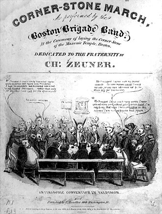 David Claypoole Johnston - Image: 1832 Anti Masonic Valdimor by D Claypoole Johnston Library Of Congress