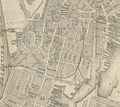 1838 SouthEnd Boston byMorse Tuttle Stimpson map BPL10950 detail.png