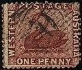 1864 1d Western Australia used Yv14 SG50.jpg
