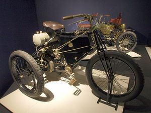 De Dion-Bouton tricycle - Image: 1900 De Dion Bouton Tricycle