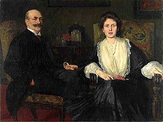 Doppelbildnis Kommerzienrat Georg Spiegelberg und Ehefrau Caroline