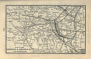 Louisiana and Arkansas Railway - Image: 1903 Poor's Louisiana and Arkansas Railway