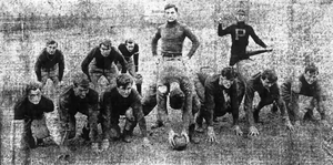 1908 Georgia Tech Yellow Jackets football team - The team in action.