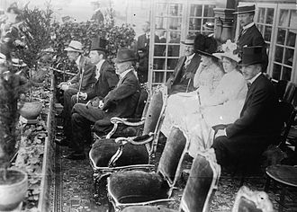 Prince Wilhelm, Duke of Södermanland - Prince Wilhelm with his father King Gustaf V at 1912 Summer Olympics
