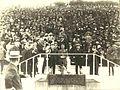 1920- Γιορτή στο Παναθηναϊκο Στάδιο με τον Ελ. Βενιζέλο και βασιλιά Αλέξανδρο και τον Θεμιστοκλή Σοφούλη.jpg