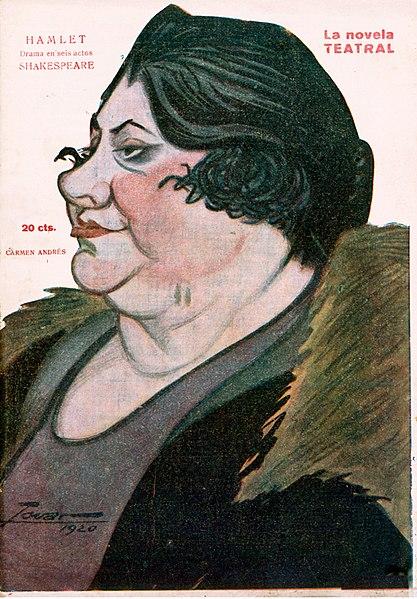 File:1921-01-09, La Novela Teatral, Carmen Andrés, Tovar.jpg